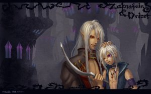 zaknafein_and_drizzt_wallpaper_by_athena_erocith-d3c4hip